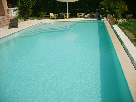renovation piscine polyester couleur sable